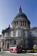 St Paul's Cathedral London Stock Photos