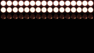 Stock Video Footage of 4K Led Lights 13 red