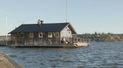 Houseboat Stock Footage