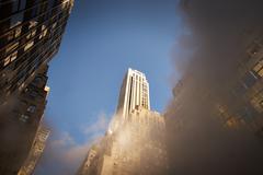 Corporate buildings new york Stock Photos