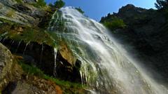 Bridal Veil Falls ms HFR HD Stock Footage