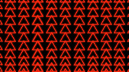 Stock Video Footage of Red Triangle Waves VJ Loop (9)
