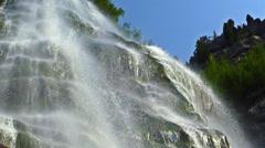 Bridal Veil Falls cu HFR HD Stock Footage