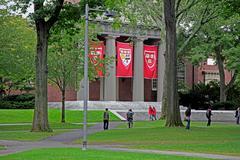Harvard University Campus Kuvituskuvat