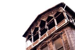 Historical house of Mudanya Stock Photos