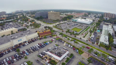 Aerial video of North Miami Stock Footage