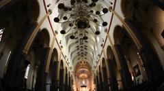 Basilica of Saint Servatius, Maastricht, Holland Stock Footage
