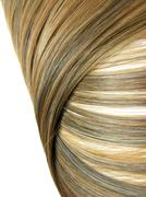 dark highlight hair texture background - stock photo