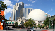 Stock Video Footage of Downtown Reno Casinos