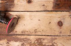 Polished floor Stock Photos