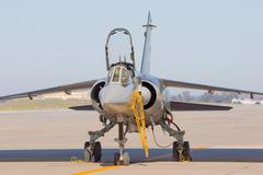 military aircraft - stock photo