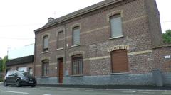 Hitler House, Fournes en Weppes, France. Stock Footage