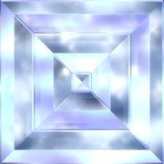 Beryl crystal Stock Illustration