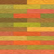 Stock Illustration of Multicolor parquet