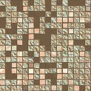 Broken tiles - stock illustration