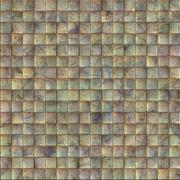 Metal tiles Stock Illustration