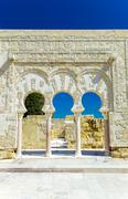 entrance of yafar's house - stock photo
