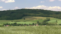 Rochlitzer Berg - Saxony, Central Germany Stock Footage