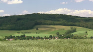 Stock Video Footage of Rochlitzer Berg - Saxony, Central Germany