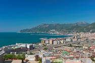 Landscape of salerno Stock Photos