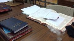 Yeshiva torah study - stock footage