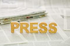 press - stock photo