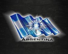Flag Argentina quality designer flag - stock illustration