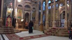 Church Holy Sepulcher Jerusalem Stock Footage