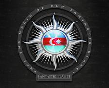 Stock Illustration of Flag Azerbaijan quality designer flag