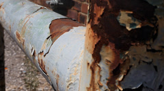 Rusty Pipe Stock Footage