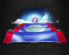 Flag Belize quality designer flag Stock Illustration