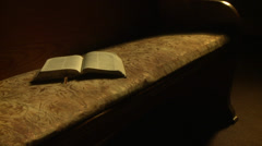 Church Chapel Interior - stock footage