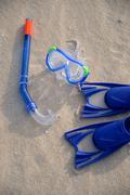 swimming gear - stock photo