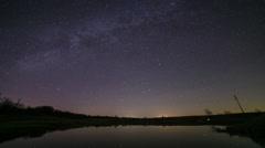 Milky Way Time Lapse - stock footage