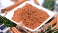 Stock Video Footage of cinnamon (loopable video)