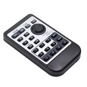 tv remote control car radio from isolated - stock photo