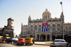 Revolution museum cuba Stock Photos