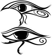 Stock Illustration of Egyptian Eye Ra