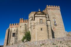 Castle - fortress of aracena Stock Photos