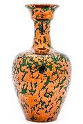vase of metallic aspect - stock photo