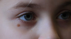 Eyes, your eyes, the lashes people. - stock footage