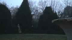 180° Of A Meadow In Cismigiu Park Stock Footage
