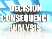 Stock Illustration of Decision Consequence Analysis