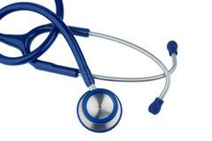 stethoscope against white background - stock photo