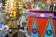 Stock Photo of closeup of kermis carousel