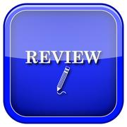 Review icon Stock Illustration
