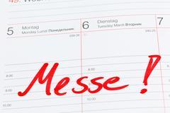 Stock Photo of entry to the calendar: fair