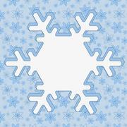 Winter time background Stock Illustration