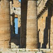 Stock Photo of Valley of the Temples of Paestum