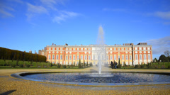 Hampton court, richmond-upon-thame s, london, england. Stock Footage
